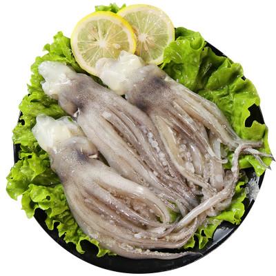 新鮮魷魚頭 魷魚須 魷魚爪 青島特產 海鮮水產 魚類海鮮 1.5KG(3斤)