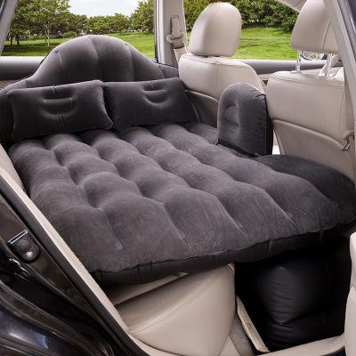 靜航(Static route)自駕游車載充氣床車用汽車床墊后排旅行床后座汽車植絨充氣車震床