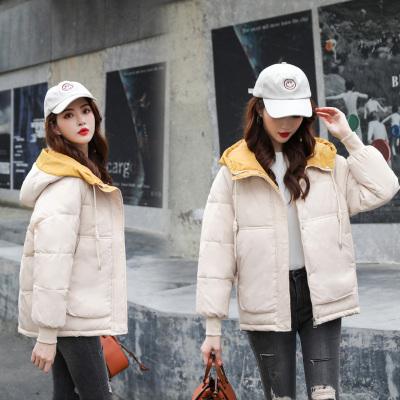 棉服女短款韩版宽松2019新款小个子大码面包服棉衣冬季学生小棉袄外套