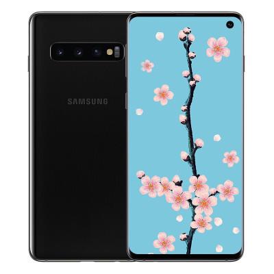 【龙8国际pt老虎机二手8新】Samsung/三星 Galaxy S10 二手安卓手机 炭晶黑 8+128GB 全网通二手手机