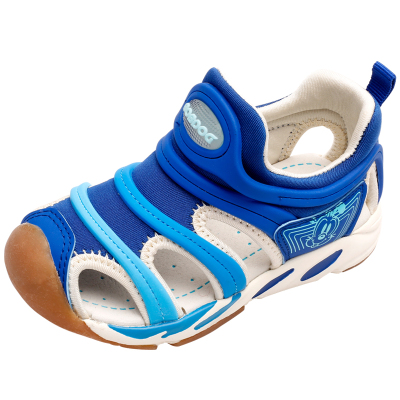 BOBDOG HOUSE巴布豆童鞋夏季兒童毛毛蟲涼鞋女童男女通用寶寶鞋子男童機能鞋82819
