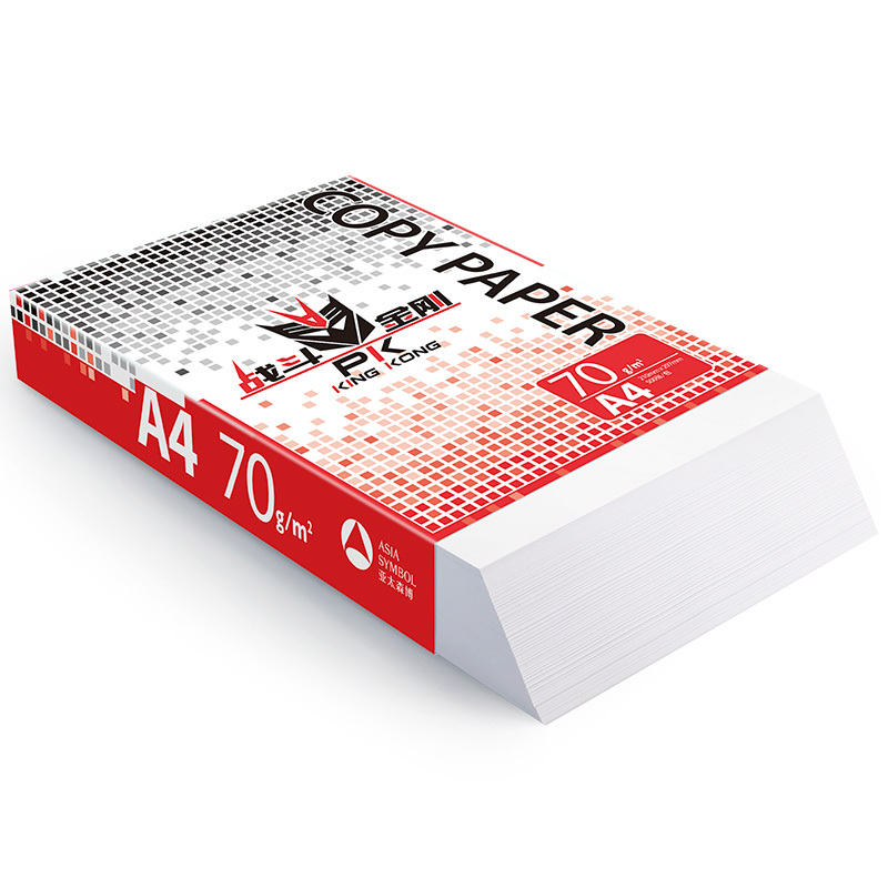 战斗金刚复印纸 A4 70g 5包/箱 500张/包N