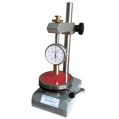 定做 廠家直銷LX—AM薄橡膠硬度計附加O型圈工作臺硫化橡膠硬度計單表