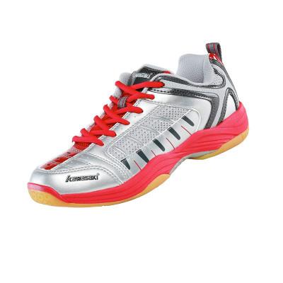川崎(kawasaki)男女款专业羽毛球鞋减震防滑轻盈透气追风系列2020春夏定制运动鞋