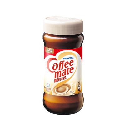 Nestle雀巢咖啡伴侶植脂末純黑咖啡速溶飲品搭配100g瓶裝