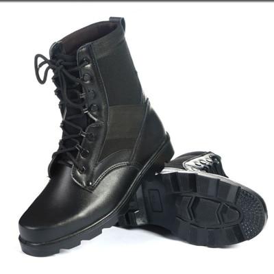 男士透氣超輕作戰靴高幫鞋特種兵保安鞋靴子馬丁靴軍勾 莎丞