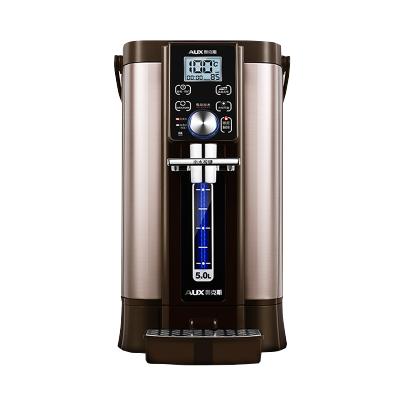 奧克斯(AUX) 電熱水瓶HX-8530F雙模煮水5L大容量多段調溫電熱保溫機家用燒水壺恒溫一體開水瓶電水壺