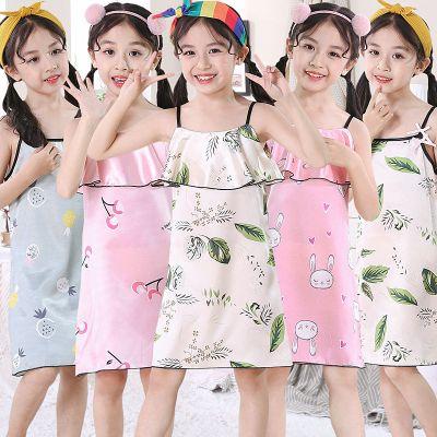 夏季兒童睡衣裙女童女孩可愛公主吊帶裙中大小童多款家居服 莎丞