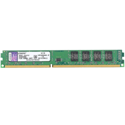 金士顿(kingston)4GB DDR3 1333 台式机电脑内存条KVR1333D3N9/4G 双面