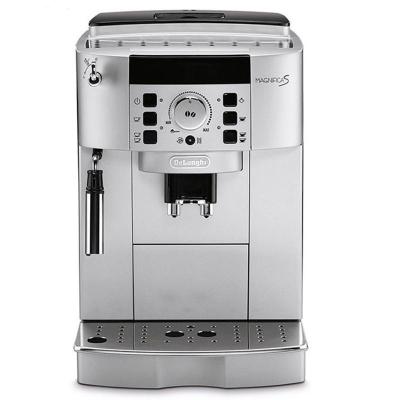 德龙(Delonghi)ECAM 22.110.SB 全自动咖啡机 意式咖啡家用商用 金属银 荷兰直邮 泵压式(蒸汽式)