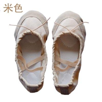 热卖儿童舞蹈鞋软底秋芭蕾舞鞋成人练功舞鞋跳舞鞋子瑜伽鞋猫爪鞋女