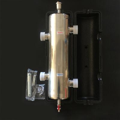 地暖分压混水罐不锈钢去藕罐去耦罐耦合罐地暖水力分压器