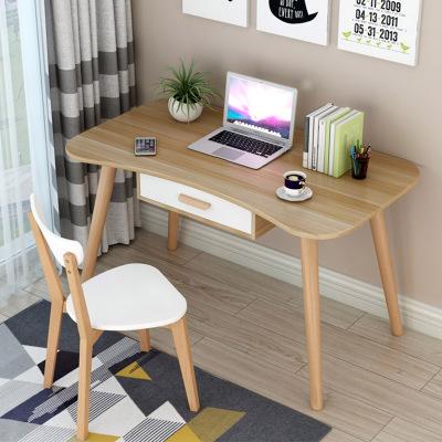 妙旭書桌簡約電腦桌臺式家用學生寫字桌經濟型簡易學習桌臥室北歐桌子