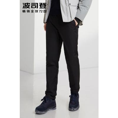 波司登羽绒裤男2019新款冬季厚款保暖防寒外穿休闲长裤