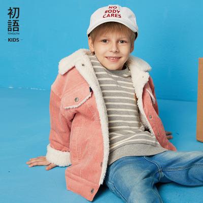 【童裝】初語童裝兒童棉衣男童女童燈芯絨外套棉服棉襖