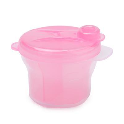 盟宝奶粉盒 便携三格奶粉格 PP安全材质 奶粉密封罐单个装