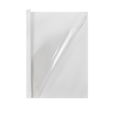 优玛仕12mm热熔封套办公热熔书本装订塑料封套A4胶状透明封面纸张封面耗材配件白