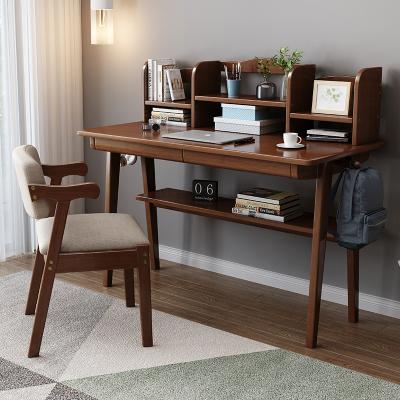 尋木匠實木書桌寫字臺臥室書桌簡約北歐電腦桌日式家用辦公學習桌子
