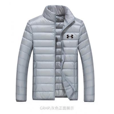 秋冬款高尔夫服装男士羽绒服长袖风衣防风运动外套鸭毛绒轻薄保暖