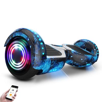 阿尔郎(AERLANG)智能平衡车儿童8-12双轮电动双轮扭扭车代步车X3C-D 蓝星空