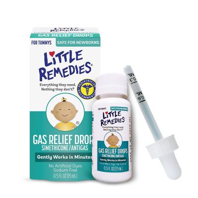 美国原装进口小鼻子(Little Remedies) 西甲硅油 婴儿肠胀气缓和滴剂15ml