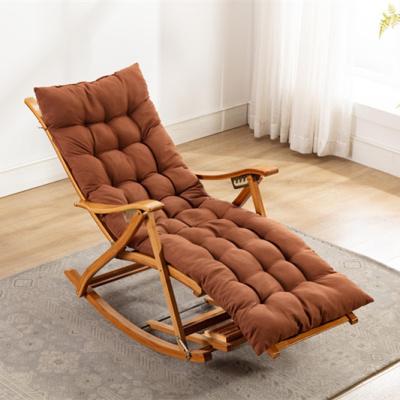 尋木匠竹搖椅 躺椅 逍遙椅 椅子收納午休懶人椅 陽臺折疊 搖搖椅