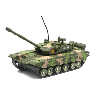 祖国T99式主战坦克合金车模型M1A2履带式豹2坦克战车模型声光玩具