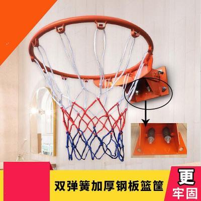 苏宁好货室外标准成人篮球框儿童篮筐篮圈室内弹簧篮球筐壁挂式篮球架篮板聚兴新款