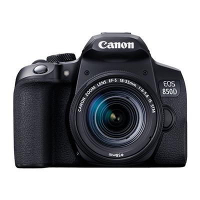 佳能(Canon)EOS-850D(EF-S 18-55mm f/4-5.6 IS STM)單反套機 APS-C畫幅