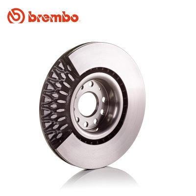 布雷博(brembo)前刹车盘09.9167.11适用于大众高尔夫6开迪速腾明锐