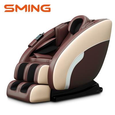 尚銘電器(SminG)按摩椅 SL軌跡家用太空艙全身按摩器藍牙音響揉捏按摩沙發椅SM-330棕色