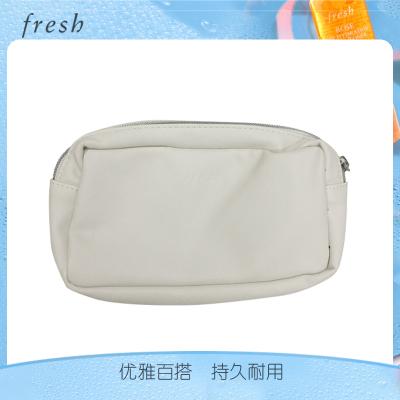 馥蕾詩(FRESH) 白色皮質化妝包