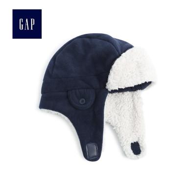 Gap男幼童柔軟舒適帽子護耳474691 保暖雷鋒帽
