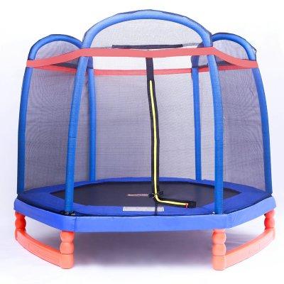 因樂思(YINLESI)蹦蹦床兒童家用室內蹦床帶護網彈跳床彈簧小孩戶外跳床寶寶跳跳床定制