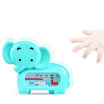 新贝婴儿水温计儿童宝宝洗澡卡通测水温新生儿家用沐浴洗澡温度计