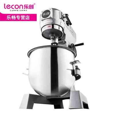 lecon/乐创商用10升20L30L商用和面机不锈钢搅拌机 多功能厨师机揉面机打蛋器 打面机 鲜奶机