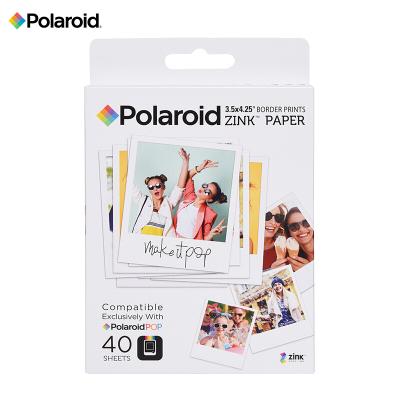 寶麗來(Polaroid)Zink3X4英寸 40張相紙 寶麗來POP系列拍立得相紙 即影即現無墨相紙 40張