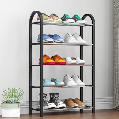 索爾諾簡易鞋架家用多層經濟型宿舍門口防塵收納鞋柜省空間小號鞋架子
