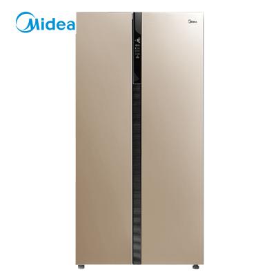 【99新】美的(Midea) 冰箱 BCD-638WKPZM(E) 对开门大容量 智能双变频无霜一级能效 双开门大容量