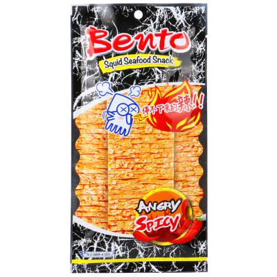 泰國進口特產 BENTO拌多樂辣味魷魚片20G 手撕魷魚片辣條零食