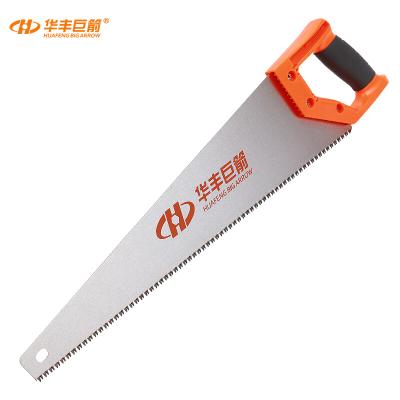 華豐巨箭(HUAFENG BIG ARROW) 手板鋸 65錳鋼鋸子手鋸木工手鋼鋸鋸和鋸條400MM