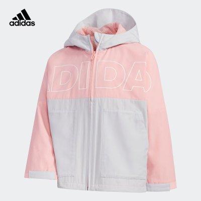 阿迪達斯adidas 2020春小童裝訓練運動梭織夾克外套FM9734