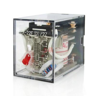 MY2NJ JZX-22F(D)/2Z中間小型電磁繼電器8腳dc12 24V交流220V