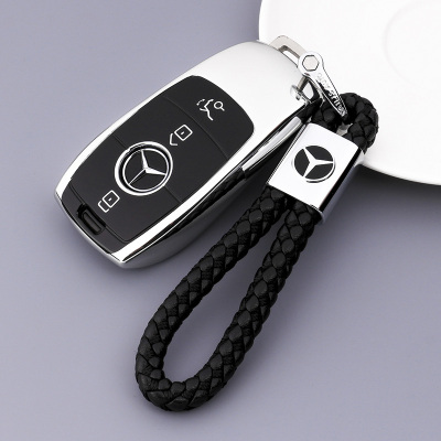 传枫 汽车钥匙包钥匙扣钥匙套奔驰E级E320 E180 E260 GLC260 GLC300 A180 A200