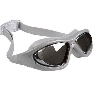 夏泳鏡成人兒童防水防霧游泳眼鏡游泳裝備透明大框近視電鍍 莎丞