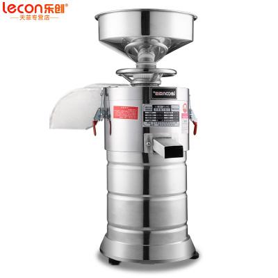 樂創(lecon) 商用豆漿機 全自動漿渣分離磨漿機 現磨豆漿機 大型免過濾干濕兩用米漿腸粉機豆腐腦機 100型 升級版
