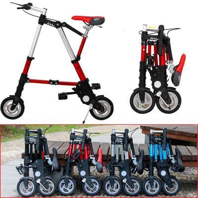 腳踏車代步車迷你型8寸折疊自行車10寸單車小折疊車免充氣