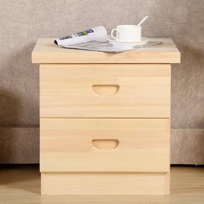 羅森朗 床頭柜實木簡約現代家具臥室收納柜斗柜實木床頭儲物柜抽屜