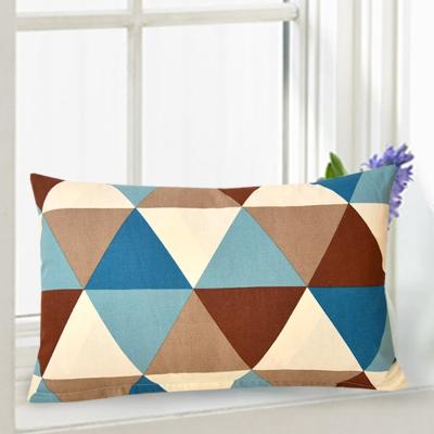 长方形靠垫抱枕套不含芯床头长条大靠背腰靠客厅沙发全棉靠枕定做 绿色 小马 60*80cm不含芯