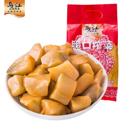 烏江涪陵榨菜小包裝脆口榨菜22g*15袋開袋即食清淡下飯菜咸菜